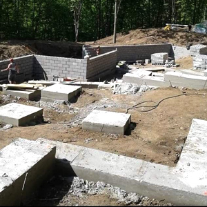 Foundation install