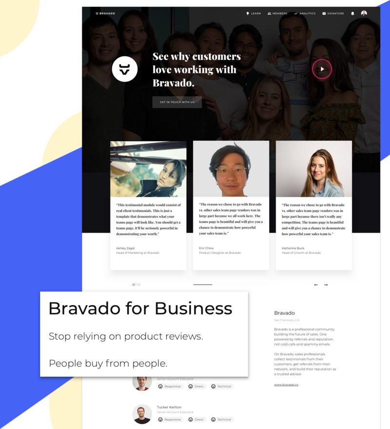 Bravado for Business