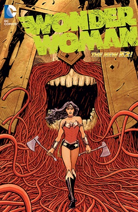 Wonder Woman By Brian Azzarello  cover of the TPB Vol 4