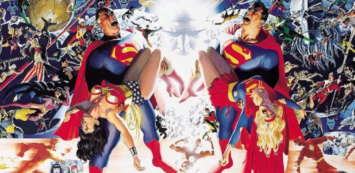 Alex Ross cover - Crisis on infinite earths