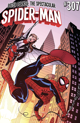 Peter Parker The spectacular Spider-man 307 cover