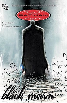 Batman The black mirror TPB cover