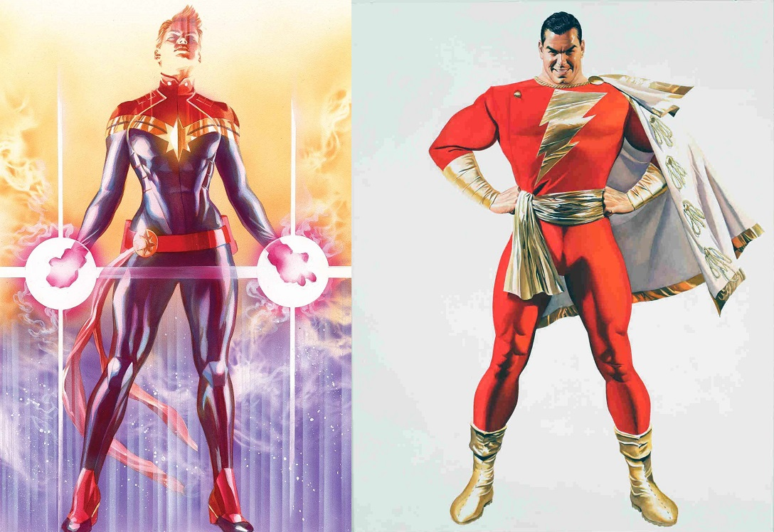 The many Captain Marvel