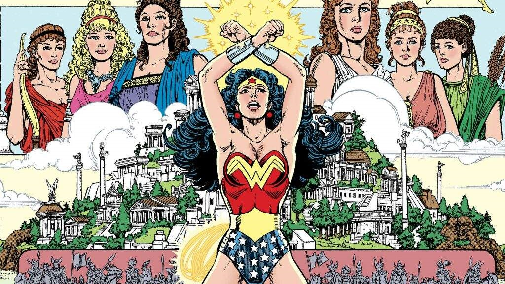 Celebreation of Wonder Woman for his issue #750 !!
