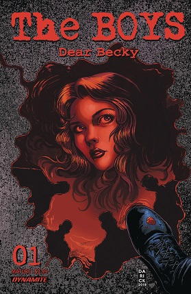 The boys dear Becky #1 cover