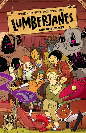 Lumberjanes End Of Summer cover