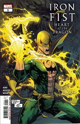 Iron Fist Heart Of Dragon #1 cover