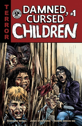 Damned Cursed Children #1 cover