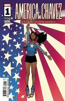 America Chavez Made In Usa #1 cover