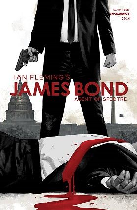 James Bond Agent Of Spectre #1 cover