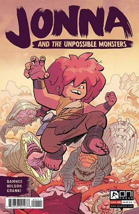 Jonna And The Unpossible Monsters #1 cover