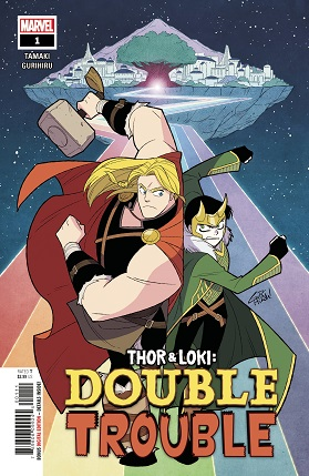 Thor And Loki Double Trouble #1 cover