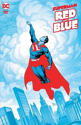 Superman Red & Blue #1 cover