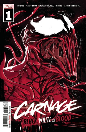 Carnage Black White And Blood #1 cover