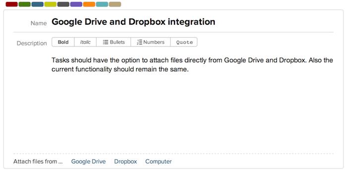 Google Drive and Dropbox integration - Breeze