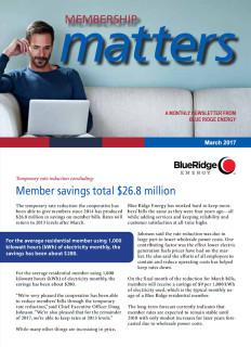 Membership MattersMarch 2017