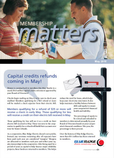 Membership MattersMay 2016