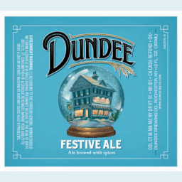 Dundee Festive Ale Dundee Brewing Co Brewerydb Com