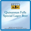 Quinannan Falls Special Lager Beer