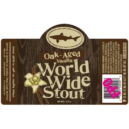 Oak Aged Vanilla World Wide Stout