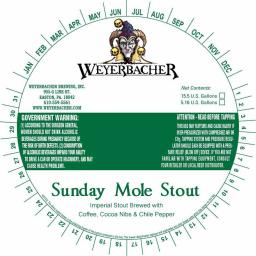 Sunday Mol Stout 2017