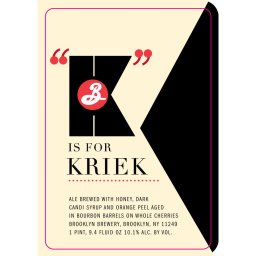 K is For Kriek