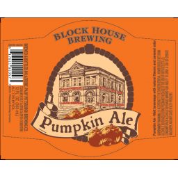 Block House Brewing Pumpkin Ale