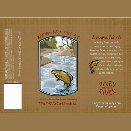 Bronzeback Pale Ale