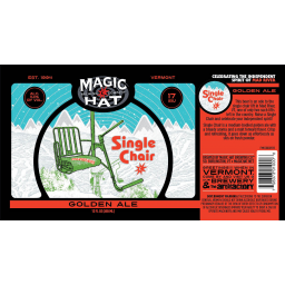 Single Chair Ale  sc 1 st  BreweryDB.com & Magic Hat Brewing Company : Beers : BreweryDB.com