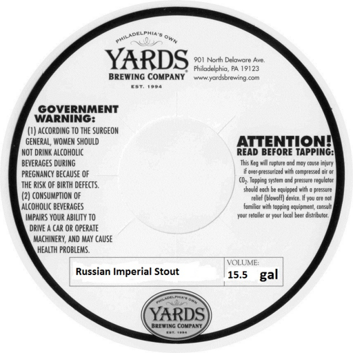 Image result for yards russian imperial stout