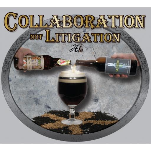 Collaboration not Litigation Ale