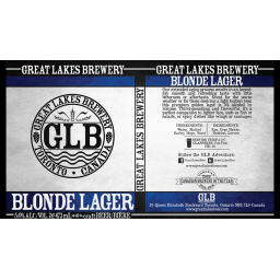 Blonde lager great lakes brewery brewerydb social media name blonde lager sciox Image collections