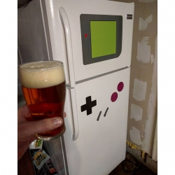 My garage fridge is now cooler than your fridge (Possibly it might not be literally cooler).