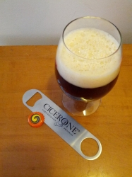 I stole this sweet new bottle opener from the office. Don't tell anyone. #brewvu http://t.co/nyUEhhS6fe