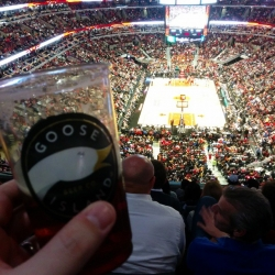Here's a beer and a sporting event! #brewvu
