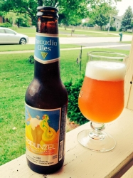 Oh Rapunzel, you refreshing lawn mowing companion. You make the humidity go away. #brewvu http://t.co/l1YVetqVbx
