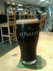 Raining in Kilkenny, so Leann Folláin, obvs. #brewvu http://t.co/WLmbE1uK7w