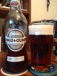 And the @InnisAndGunn Canadian Cherrywood Aged ale in the glass #brewvu #craftbeer http://t.co/XzuIXs8HV9