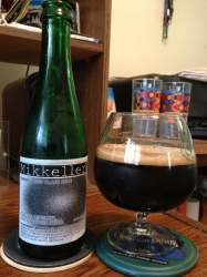 Just finished some Mikkeller white wine barrel-aged Black Hole #brewvu #craftbeer #stoutsaturday http://t.co/m3pl2SfyPP