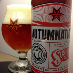 Last of my @sixpoint  Autumnation. #craftbeer #brewvu http://t.co/meFqKwEN