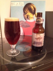 Having my own l'il FoBAB at home, there's only 1 offering, Founders Backwoods Bastard, but it's a good one. #brewvu http://t.co/sKsPjwP9gz