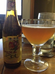 624th beer of 2012: Brugse Zot. Yep, that is really what it is called, deal with it. #brewvu http://t.co/QLdWU4pR