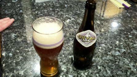 Orval Ttappist Ale - man is it good.  # beer #art # brewvu http://t.co/jOg6xTeQ