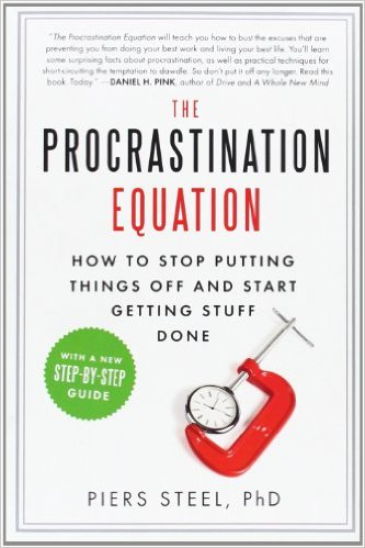 The Procrastination Equation Book Cover
