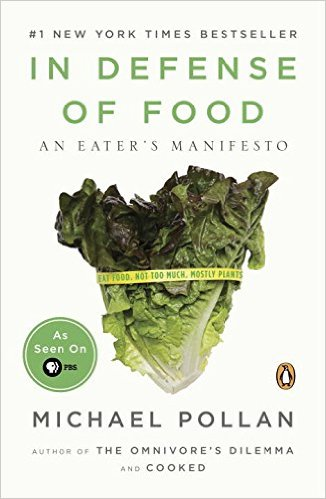 In Defense of Food Book Cover