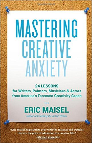 Mastering Creative Anxiety Book Cover