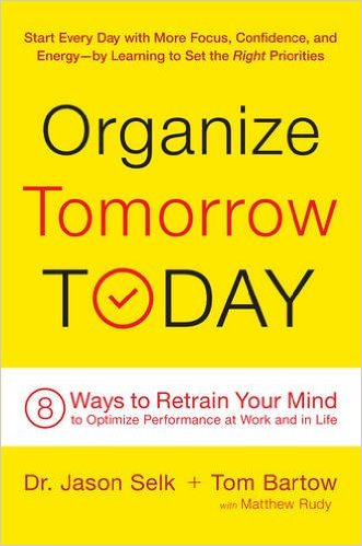 Organize Tomorrow Today Book Cover