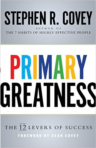 Primary Greatness Book Cover