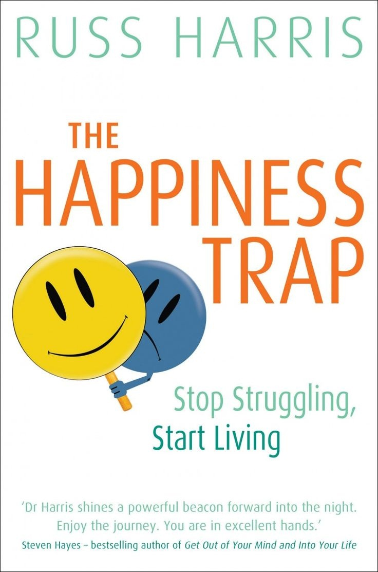 The Happiness Trap Book Cover