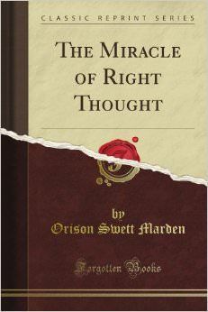 The Miracle of Right Thought Book Cover